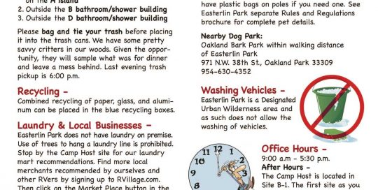 flyer and handout samples archives rv park marketing